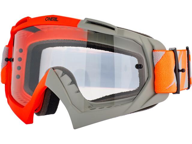 O'Neal B-10 Gogle, twoface-orange/gray-clear